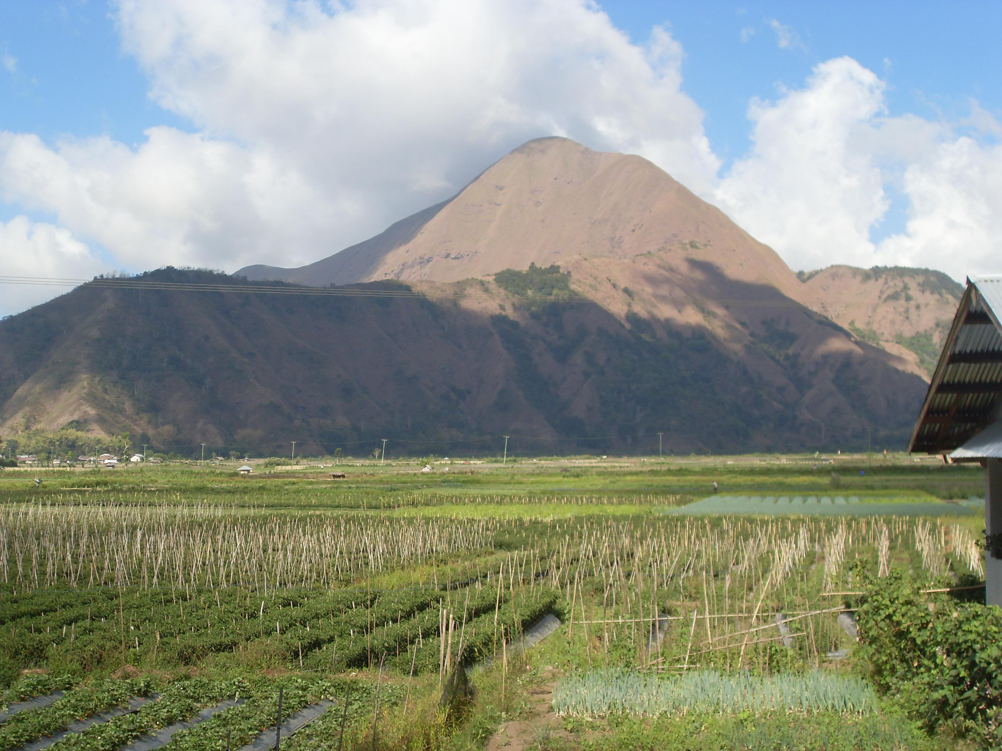vulkaan Renjany 3752 meter