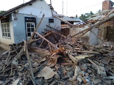Aardbevingen Lombok