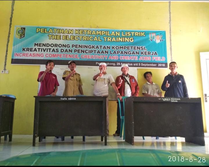 Opleiding elektriciens Oost Lombok