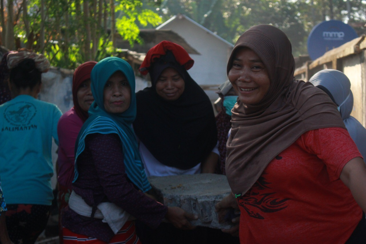 Voortgang Lombok 13 oktober
